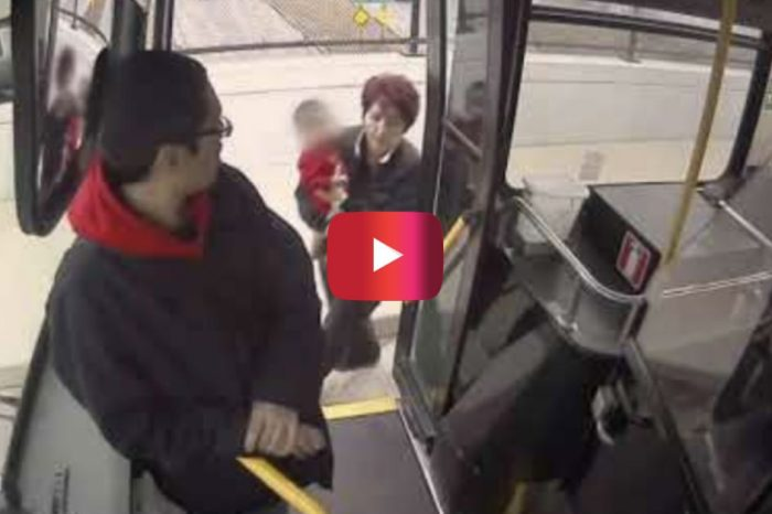 Bus Driver Caught on Video Rescuing Child Who Was Wandering on Milwaukee Freeway
