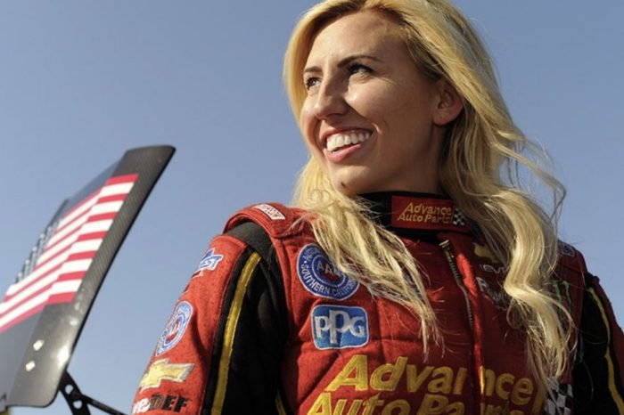 The Winningest Female Funny Car Driver in NHRA History Is Calling It Quits