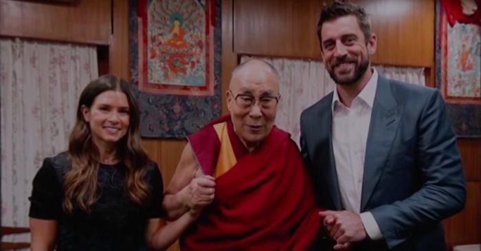 Danica Patrick Once Scared the Dalai Lama With NASCAR Crash Video