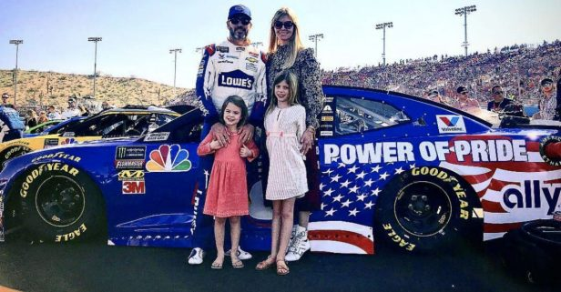 Jimmie Johnson's Daughters Get Creative with Paint Scheme Ideas for Dad