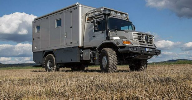 The Mercedes Zetros 6×6 Is a Luxury Survival Fortress on Wheels