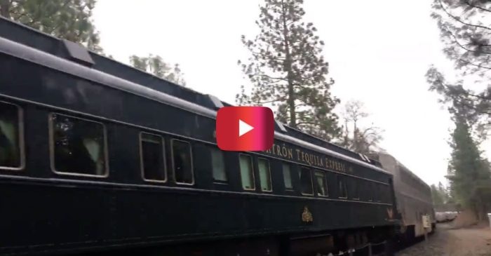 This Patrón Tequila Train Car Has Quite the Amazing History Behind It