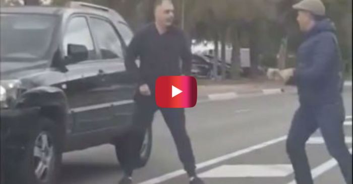 This British Road Rager Should've Quit After Getting KO'd the First Time