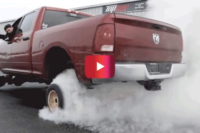 Gearhead Puts Tiny Wheels on His Lifted Truck