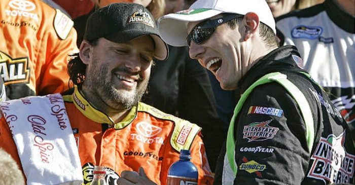 What Tony Stewart Said After Kyle Busch Tied Him on Cup Series Wins List
