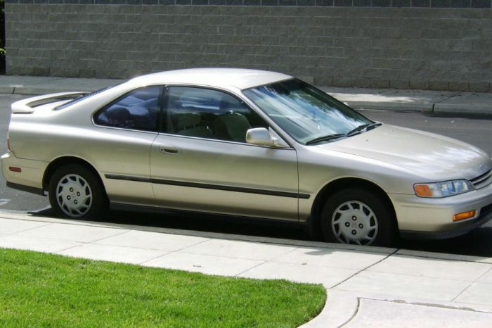 If You Have a Honda Accord, It's as Good as Gone