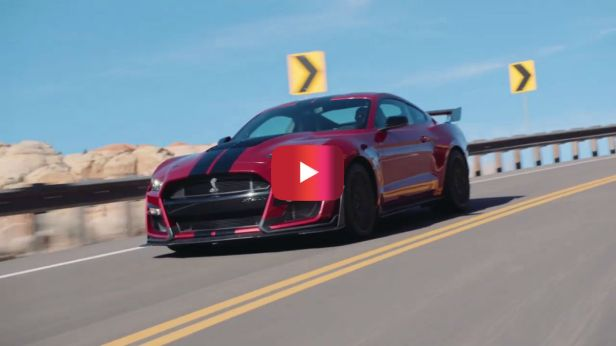 See the New Mustang Shelby GT500 with 700+ Horsepower