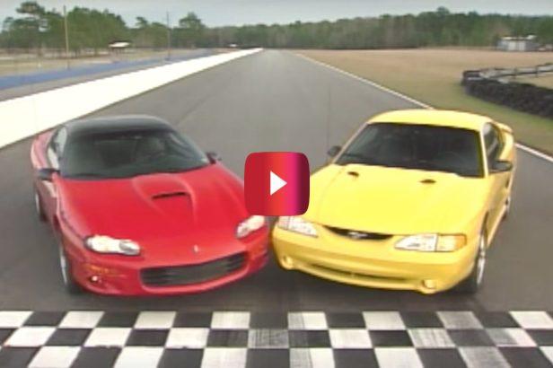 Mustang Cobra vs. Camaro SS: The Ultimate Throwback Battle