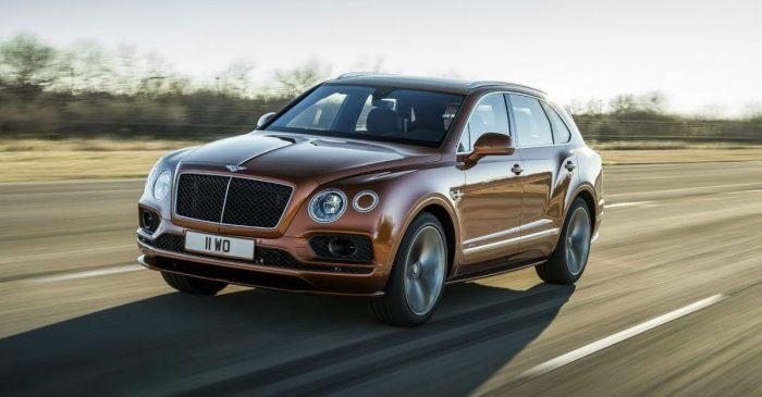 World's Fastest SUV: Bentley Bentayga Speed Hits 190 MPH