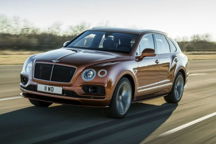 World's Fastest SUV: Bentley Bentayga Speed Hits 190 MPH