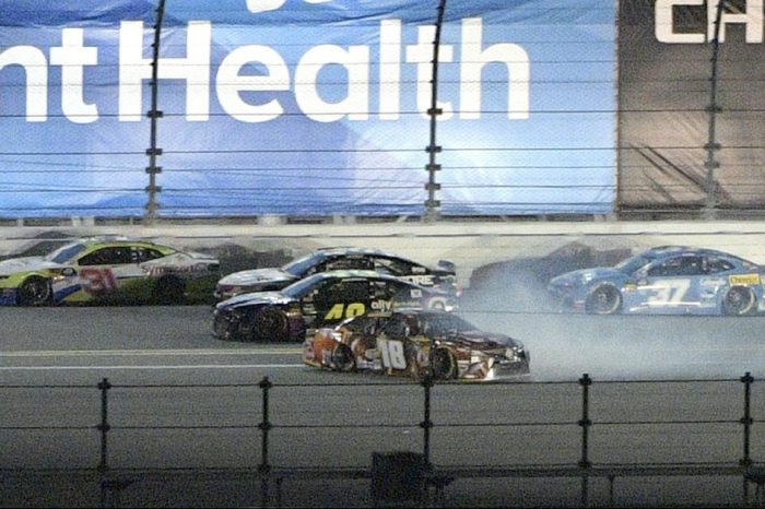 Kyle Busch Was NOT Happy After Jimmie Johnson Caused 2 Wrecks in Less Than a Week