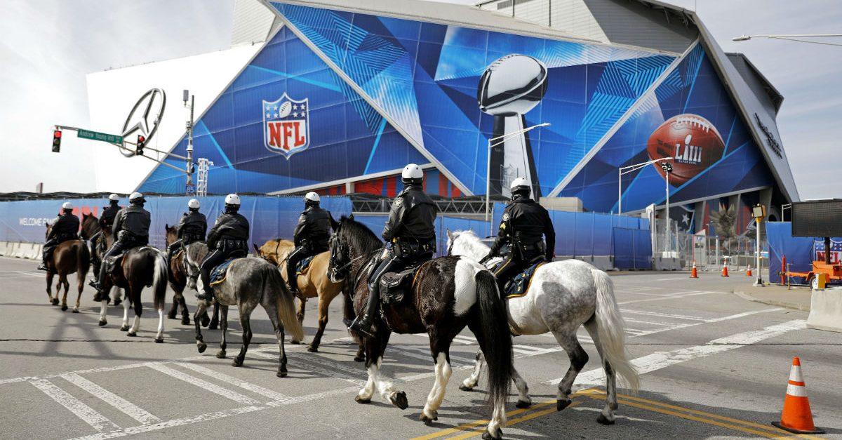 horseback police