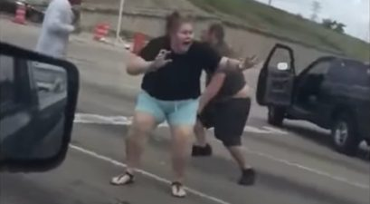houston texas road rage fight