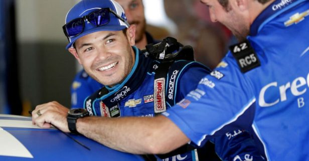 Kyle Larson Has Some 'Cheating' Thoughts on the Chip Ganassi Racing vs. Hendrick Motorsports Chevy Rivalry