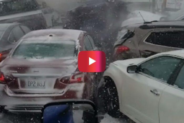 WILD Video of 47-Car Pileup on Missouri Highway Is Pure Mayhem