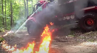 Bulldog 4x4 Extreme fire truck