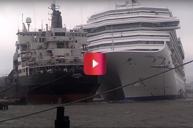 This Carnival Cruise Ship Crash Was One Hell of a Gigantic Disaster