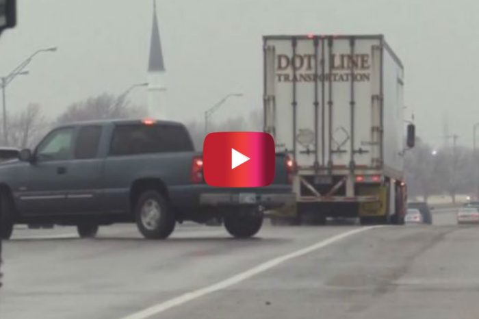 Video Shows Cars Spinning out on Icy Oklahoma Road Following Winter Storm