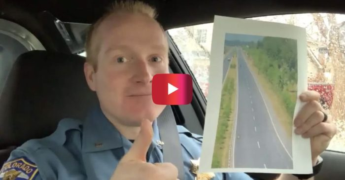 Colorado Cop Has Important Message for All Left-Lane Squatters