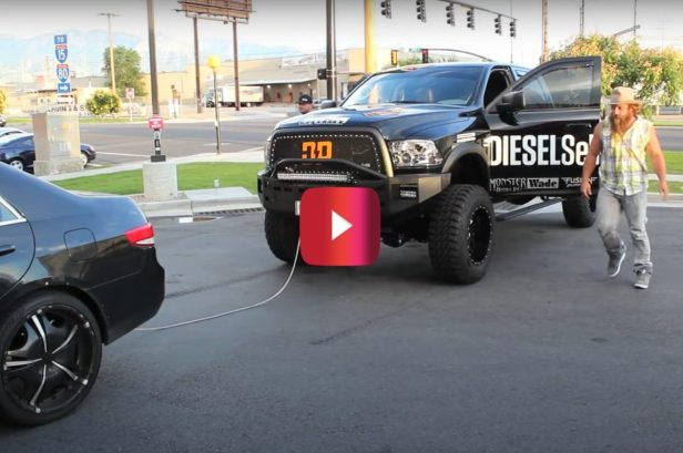 Why You Don't Take Up Parking in Front of a Diesel Pump