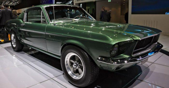 Car Thief Drives Ford Mustang Bullitt Right Through Showroom Doors