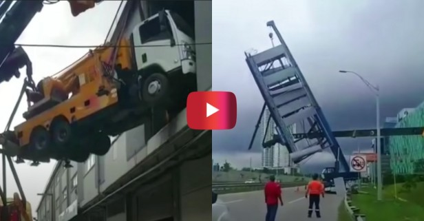 These Heavy Equipment Fails Are Hard to Watch