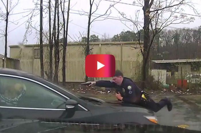 Intense Dashcam Footage Shows Arkansas Cop Firing at Driver Through Windshield 15 Times