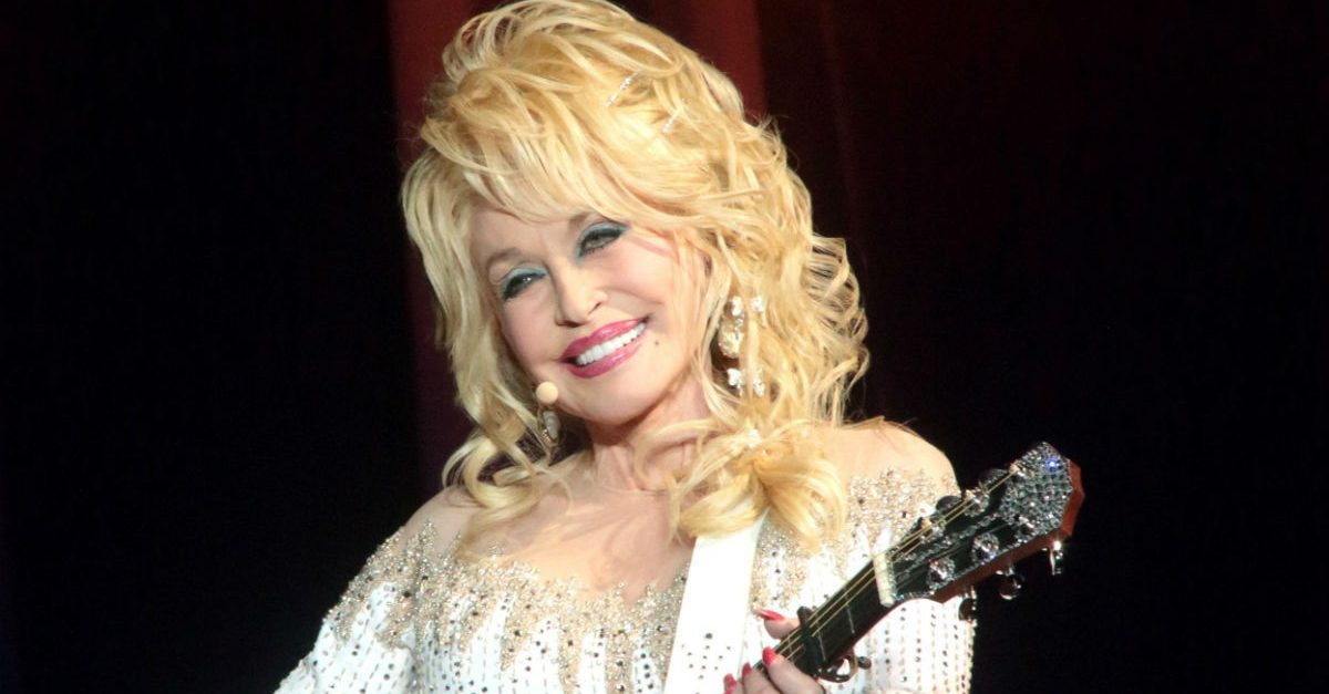 Dolly Parton's Face Was Once on a NASCAR Camaro