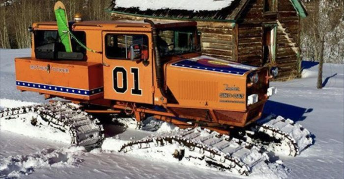 Career Criminal Gets Sentenced for Stealing 'Dukes of Hazzard' Sno-Cat