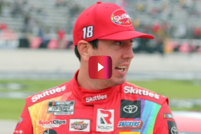 Kyle Busch Has Heated Exchange With Crew After Texas Pit Stop Mistake