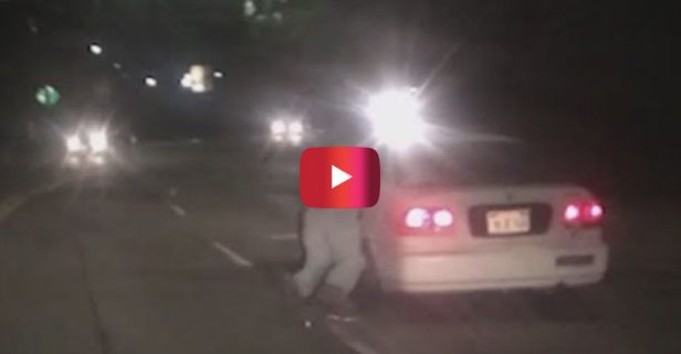 This Man Wasn't About to Let His Car Get Stolen Without a Fight