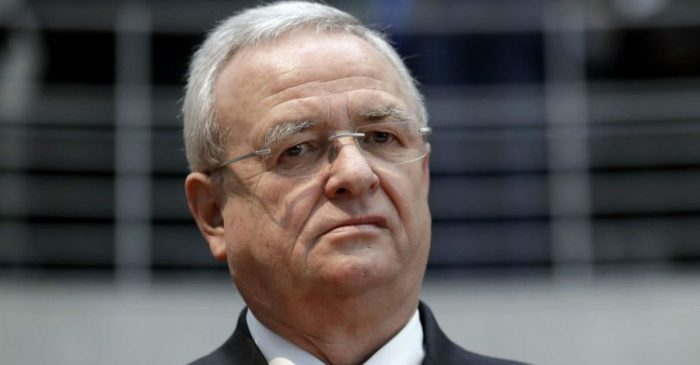 Former Volkswagen CEO Charged with Fraud in Dieselgate Scandal