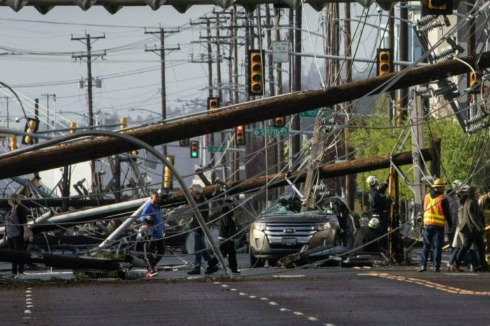 Seattle Couple Somehow Survives After Power Line Impales SUV