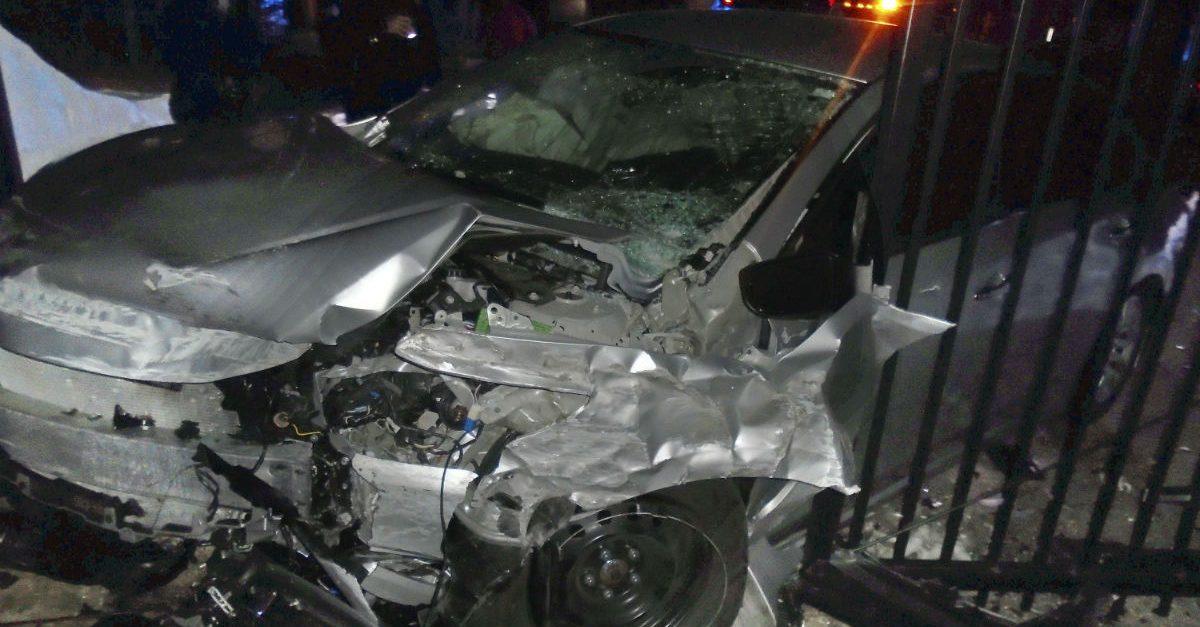 taylor swift car crash