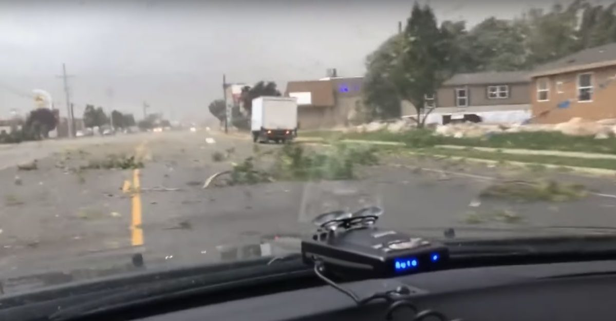 utah tornado