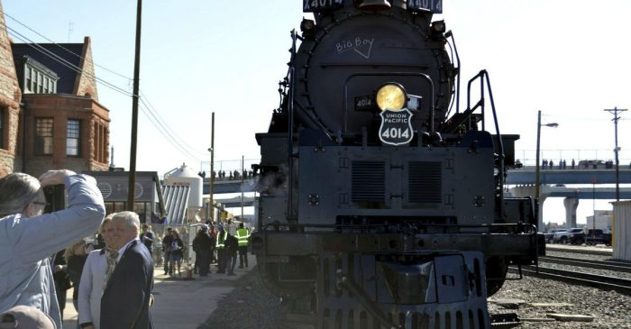 Meet 'Big Boy,' the Train That Can Pull 16 Statues of Liberty Over a Mountain