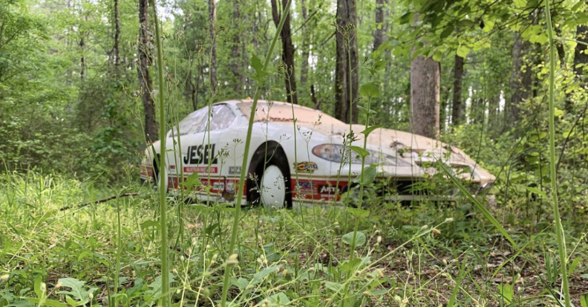 Dale Jr. Spent a Year Looking for This Race Car in His Own Backyard