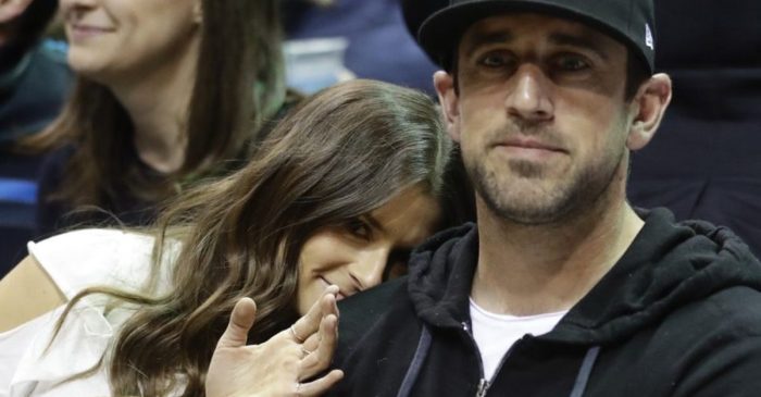 "Aaron Rodgers First Hit on Danica Patrick With a ""Dumb and Dumber"" Quote"