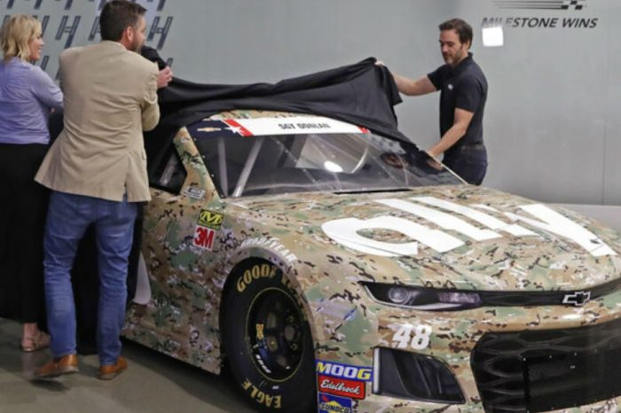 Jimmie Johnson's No. 48 Chevy Will Honor Fallen Soldier at Memorial Day Weekend Race