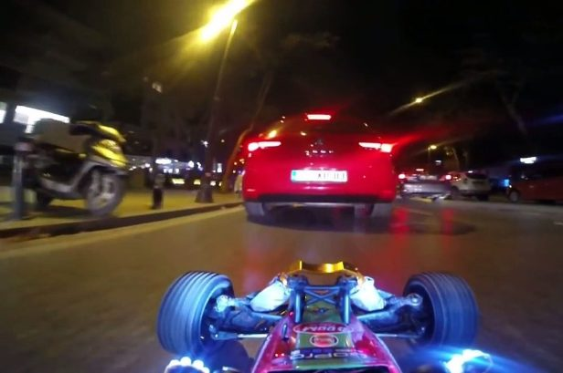 Awesome POV Video Shows RC Car Driving Through Traffic