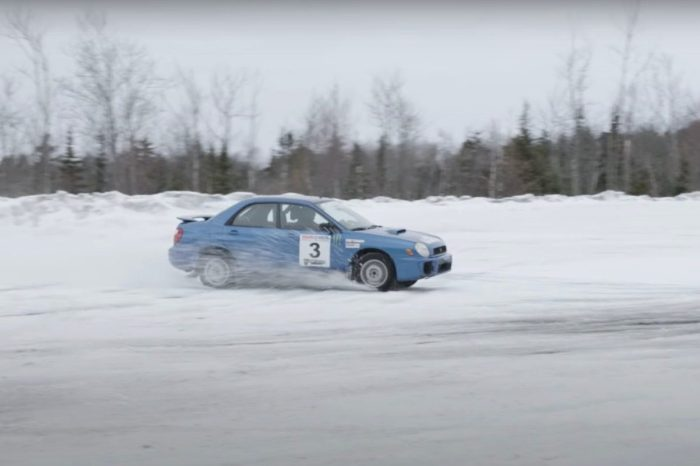 Stunt Driver Pulls Off Sweet Techniques in the Snow