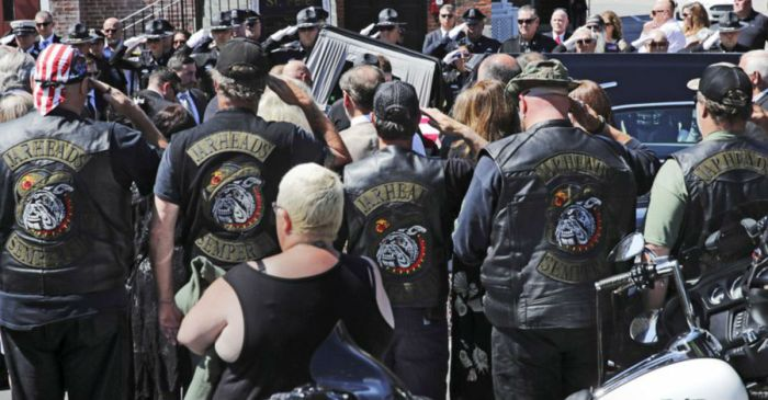 Funerals Held for Marine Corps Motorcycle Club Members Killed in Truck Collision