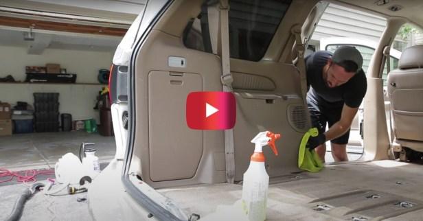 Car Detailer Transforms Disastrous Ford Escape Interior
