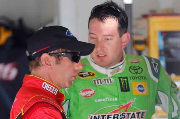 "Kyle Busch Called Himself a ""Genius"" After Greg Biffle's Last NASCAR Win"