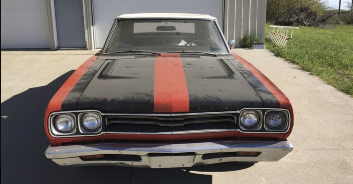 This 1969 Plymouth GTX Was Abandoned for Decades, Now a Possible Owner Has Emerged