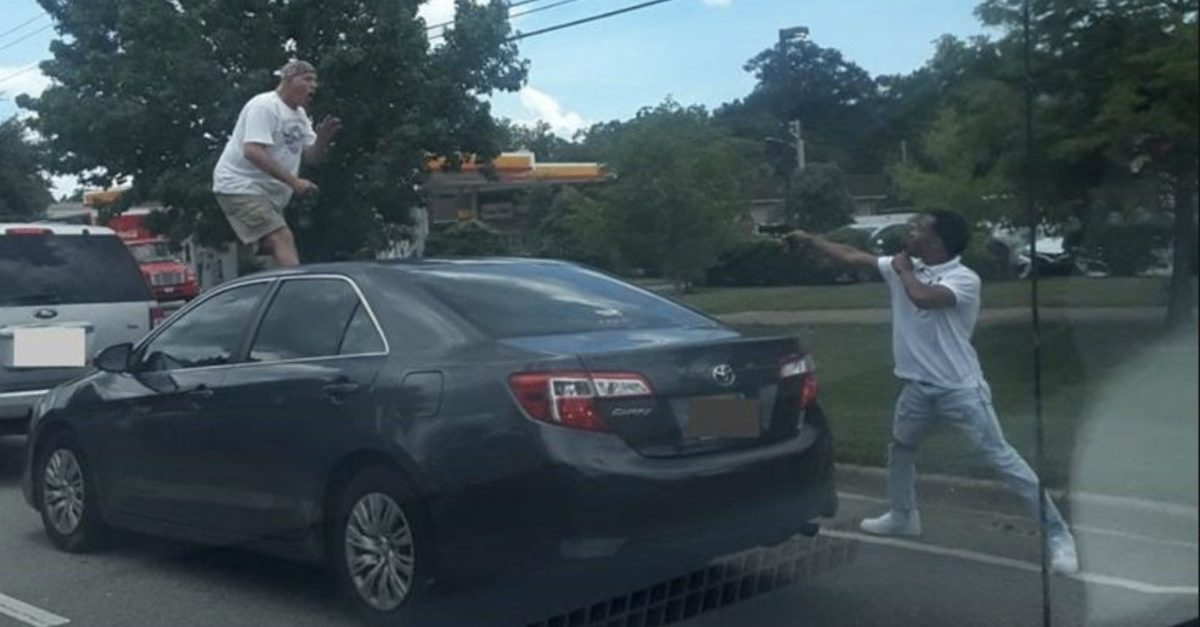This Road Rage Photo Isn't What It Seems, Guy Holding Gun Speaks Out