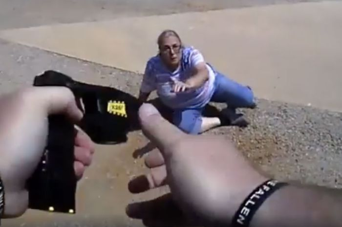 Wild Video Shows Oklahoma Cop Tasing Woman After She Refuses to Pay $80 Ticket