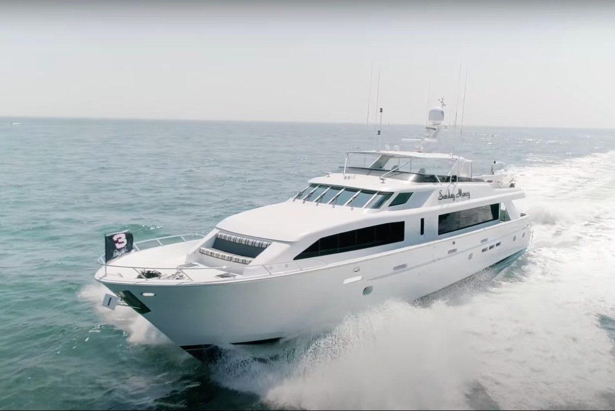 dale earnhardt yacht