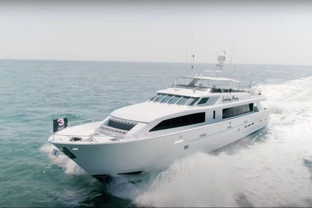 """Dale Earnhardt's $4 Million Yacht Called """"Sunday Money"""" Has All the Bells and Whistles"""