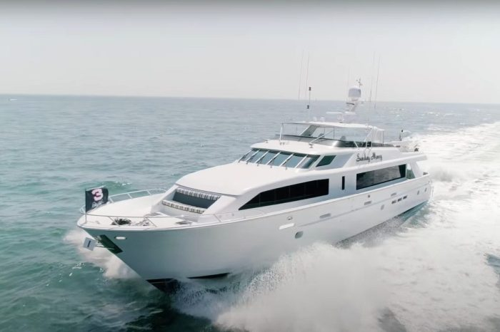 "Dale Earnhardt's ""Sunday Money"" Yacht Has All the Bells and Whistles"
